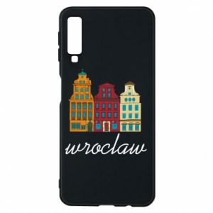 Phone case for Samsung A7 2018 Wroclaw illustration