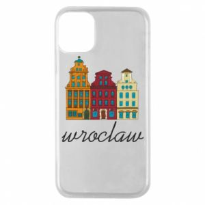 Phone case for iPhone 11 Pro Wroclaw illustration