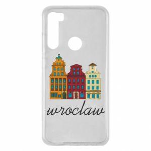 Xiaomi Redmi Note 8 Case Wroclaw illustration