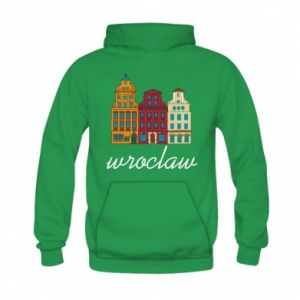 Kid's hoodie Wroclaw illustration
