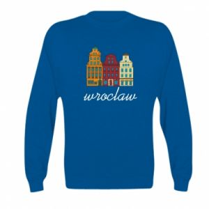 Kid's sweatshirt Wroclaw illustration