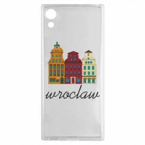 Sony Xperia XA1 Case Wroclaw illustration