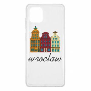 Samsung Note 10 Lite Case Wroclaw illustration
