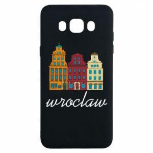 Samsung J7 2016 Case Wroclaw illustration