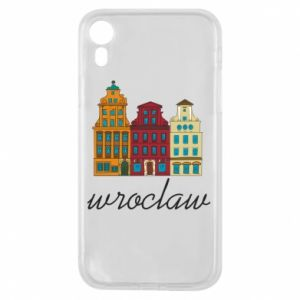 Phone case for iPhone XR Wroclaw illustration