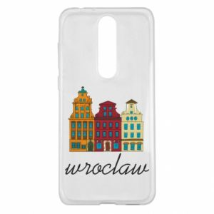 Nokia 5.1 Plus Case Wroclaw illustration