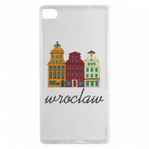 Huawei P8 Case Wroclaw illustration