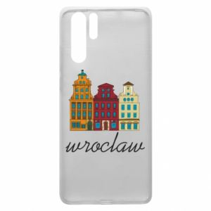 Huawei P30 Pro Case Wroclaw illustration