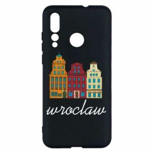 Huawei Nova 4 Case Wroclaw illustration