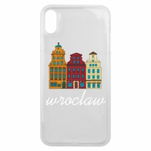 Etui na iPhone Xs Max Wroclaw illustration