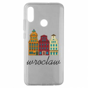 Huawei Honor 10 Lite Case Wroclaw illustration