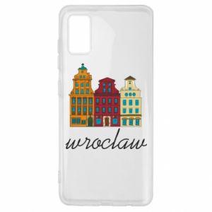 Samsung A41 Case Wroclaw illustration