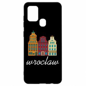 Samsung A21s Case Wroclaw illustration