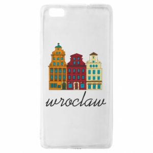 Huawei P8 Lite Case Wroclaw illustration