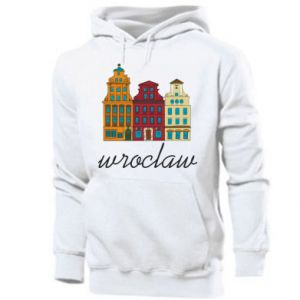 Men's hoodie Wroclaw illustration