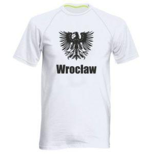 Men's sports t-shirt Wroclaw