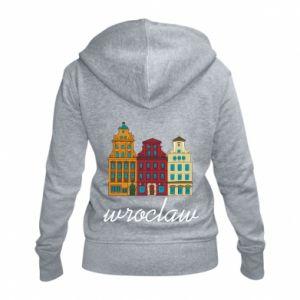Women's zip up hoodies Wroclaw illustration