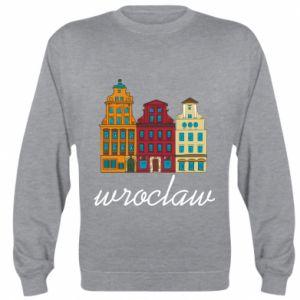 Bluza (raglan) Wroclaw illustration - PrintSalon