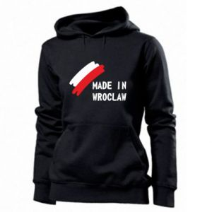 Women's hoodies Made in Wroclaw