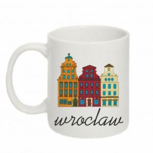 Mug 330ml Wroclaw illustration