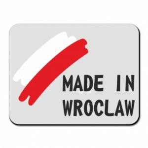 Mouse pad Made in Wroclaw