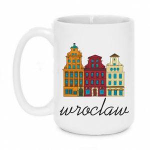 Mug 450ml Wroclaw illustration