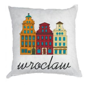 Pillow Wroclaw illustration
