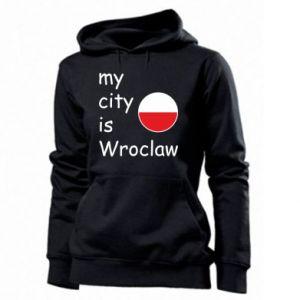 Damska bluza My city is Wroclaw