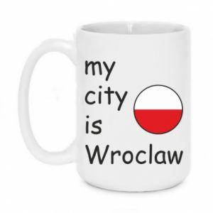 Kubek 450ml My city is Wroclaw