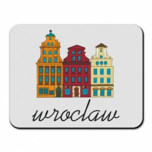 Mouse pad Wroclaw illustration