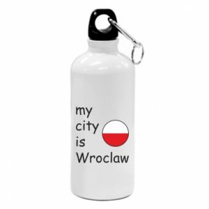 Water bottle My city isWroclaw