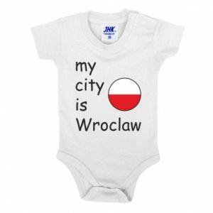 Body dziecięce My city is Wroclaw