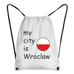 Backpack-bag My city isWroclaw