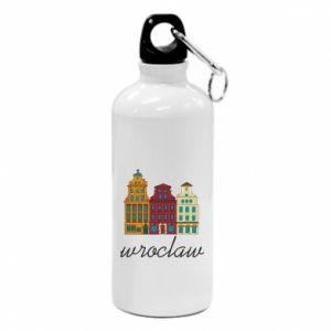 Water bottle Wroclaw illustration