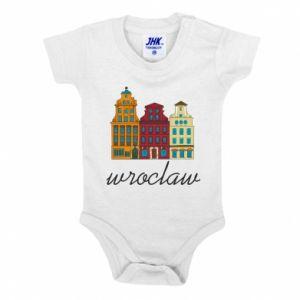 Baby bodysuit Wroclaw illustration