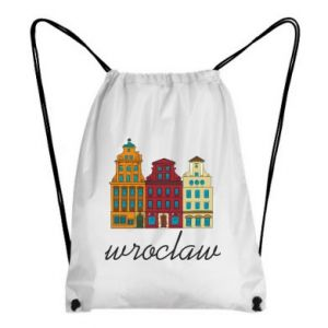 Backpack-bag Wroclaw illustration