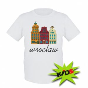 Kids T-shirt Wroclaw illustration