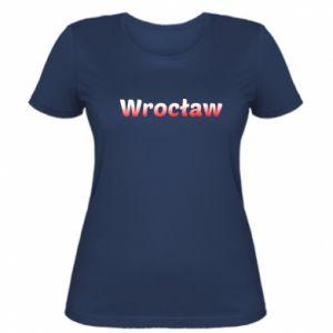 Damska koszulka Wrocław