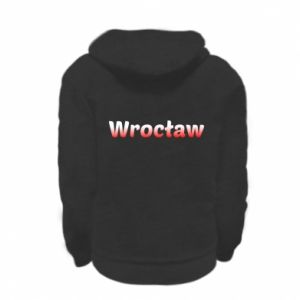 Kid's zipped hoodie % print% Wroclaw