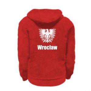 Kid's zipped hoodie Wroclaw