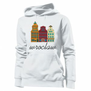 Women's hoodies Wroclaw illustration