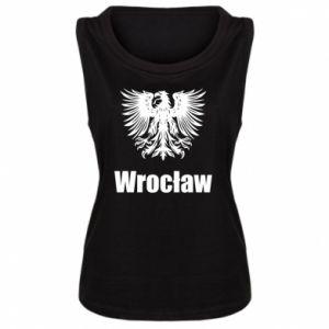Damska koszulka bez rękawów Wrocław