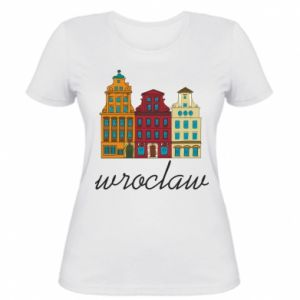 Women's t-shirt Wroclaw illustration