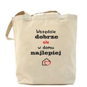 Bag Well everywhere but at home is best - PrintSalon