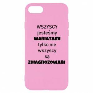 Etui na iPhone SE 2020 Wszyscy jesteśmy wariatami...