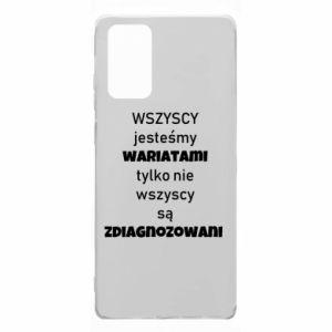 Etui na Samsung Note 20 Wszyscy jesteśmy wariatami...