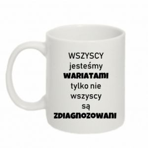 Mug 330ml We are all crazy... - PrintSalon