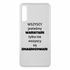 Phone case for Samsung A7 2018 We are all crazy... - PrintSalon