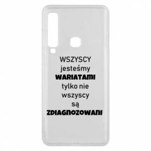 Phone case for Samsung A9 2018 We are all crazy...