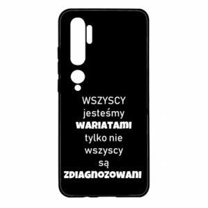 Etui na Xiaomi Mi Note 10 Wszyscy jesteśmy wariatami...